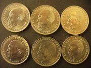 2 DM-Münzen (