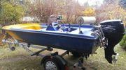 Gfk Boot Angelboot Motorboot Konsolenboot