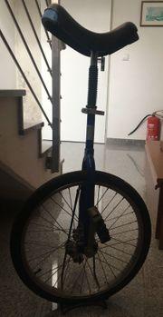 Einrad - 20 - höhenverstellbar - blau mit