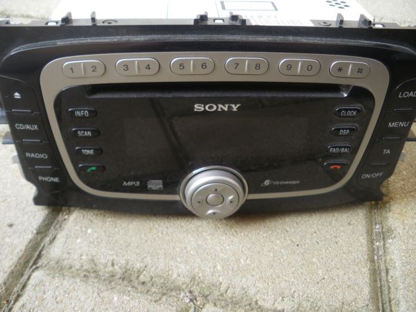 Ford Autoradio Sony 7S7T-18C939-DE in Lichtenfels - Auto HiFi/-Boxen ...