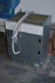 Vollintegrierte Spülmaschine, von