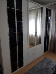 Kleiderschrank mit Sideboard
