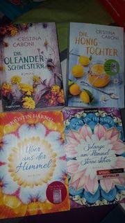 4 Bücher Romane