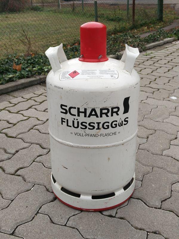 Propangas Scharr Pfandflasche 11kg In Karlsruhe Campingartikel