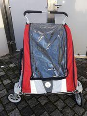 Fahrradanhänger für 2 Kinder Chariot