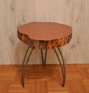 Tisch akazie haushalt m bel gebraucht und neu kaufen - Beistelltisch baumscheibe ...