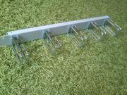 19 Rangierpanel 1HE - Kabelführungspanel Metall -
