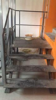 Stahltreppe zu verkaufen