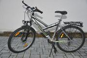 Jugend-Fahrrad, grau,