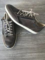 MEPHISTO Ledersneaker UGGO grau braun