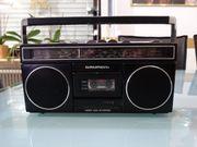 Retro Mini Cassetten Radio Grundig