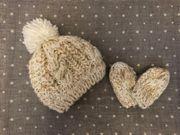 Baby Mütze und Fäustlinge