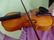 Verkaufe Geigen-Set 1 2 Größe