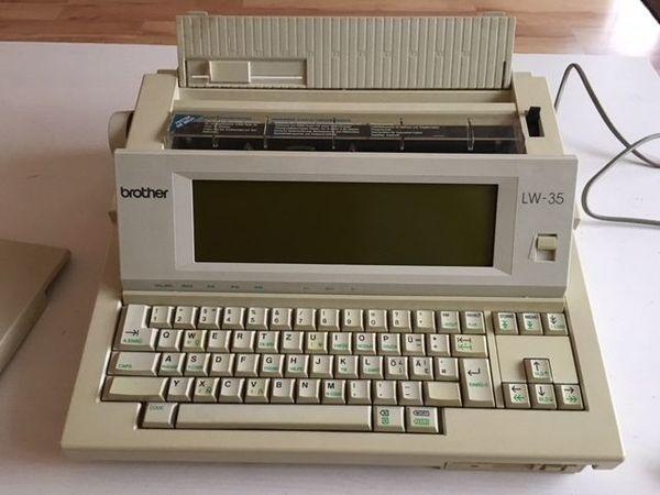 Elektronische Schreibmaschine Brother » Büromaschinen, Bürogeräte