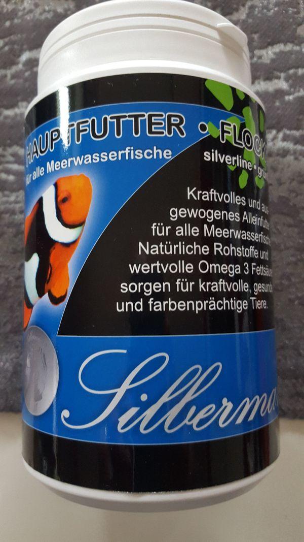 Hauptfutter für alle Meerwasserfische