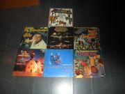 Sammlung LPs Weihnachtslieder