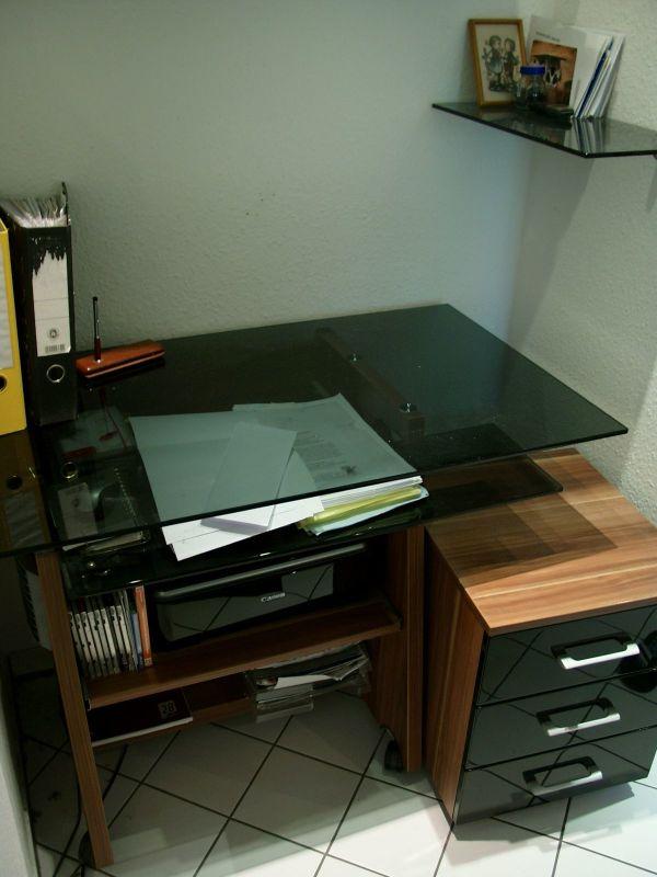 Schreibtisch inkl. Rollcontainer in Pettstadt - Büromöbel kaufen ...