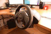 Rennlenkrad USB Microsoft Sidewinder Racing