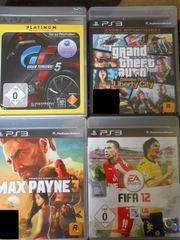 4x PS3 Spiele