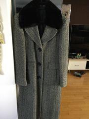 Damen Mantel Gr 38 schwarz