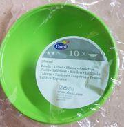 10x Plastikschalen Neu