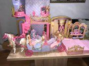 Barbie Märchenschloß ein Traum mit