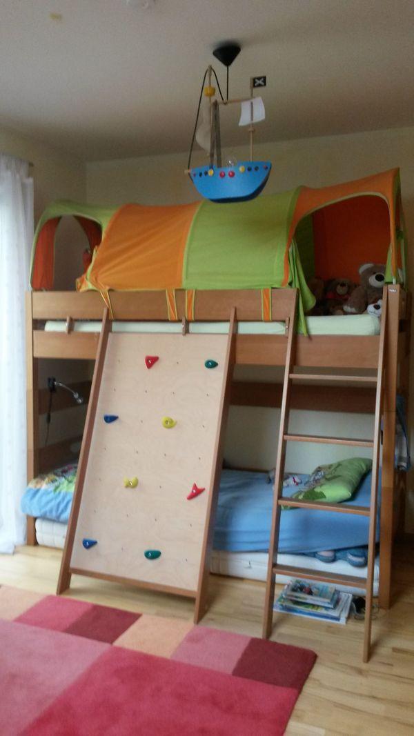 paidi hochbett varietta buche natur 155 cm in ruppertsberg kinder jugendzimmer kaufen und. Black Bedroom Furniture Sets. Home Design Ideas