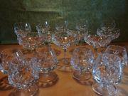 Blei-Kristall-Gläser