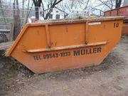 Mulde - Container - Gerüst - Transportmulde