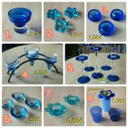 Teelichthalter, Kerzenhalter, Kerzenteller,