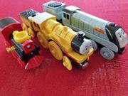 3 Stück Schiebelokomotiven - Thomas und