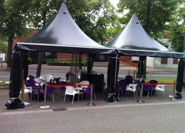 Pavillons X Sammlung : Pagodenzelte gastrozelte m pavillon partyzelt festzelte