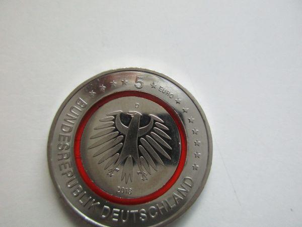 5 Euro Münz St Subtropische Zone 2018 Prägebuchstabe D In