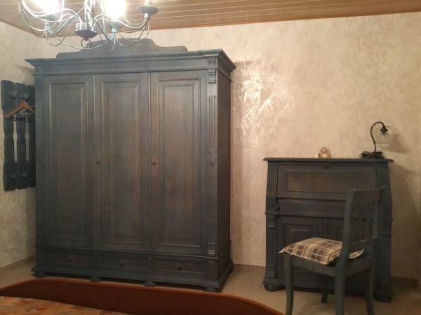 Il Girasole Schlafzimmer Fichte Blau Landhausstil Vintage In