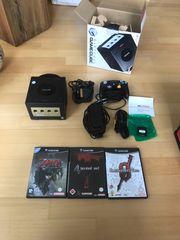 GameCube mit 3 spielen alles