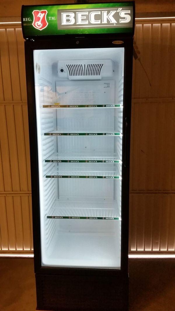 Getränke- / Flaschenkühlschrank BECK`S voll funktionsfähig !! in ...