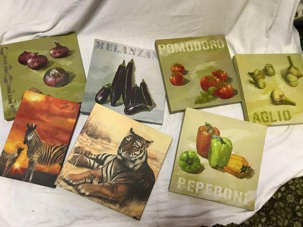 Wandbilder kuchenbilder gebraucht kaufen nur 4 st bis - Wandbilder bei ikea ...