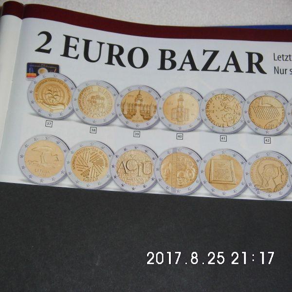 29 3 Stück 2 Euro Münzen Aus Drei Ländern Zirkuliert In Bremen