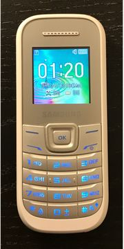 Samsung E1200I Handy Dual-Band SUPER