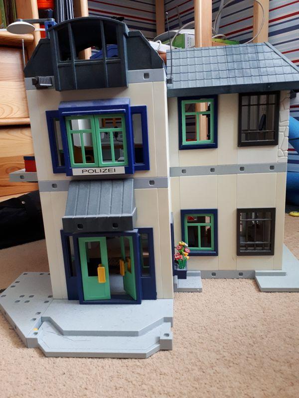 Playmobil Polizeistation Groß In Hockenheim Spielzeug Lego