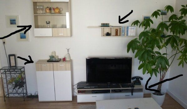 Wohnzimmer Schrank TV Board in Erpolzheim - Wohnzimmerschränke ...