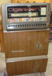 Zigaretten Automat Wurlitzer Typ V17CS