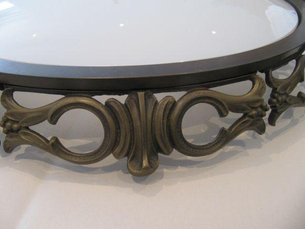 Plafonniere Messing Glas : Messing deckenleuchte plafoniere kaiser gewölbtes glas typ