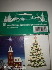 Weihnachtsanhänger insgesamt 80 stk