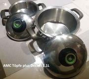 2 Kochtöpfe von AMC mit