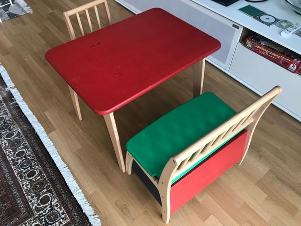 Etagenbett Geuther : Geuther sitzgruppe modell bambino mit tisch in heidelberg kinder