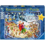 1000er Puzzle Ravensburger Christmas Edition