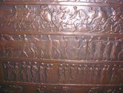 Kupferrelief mit griechischen oder römischen