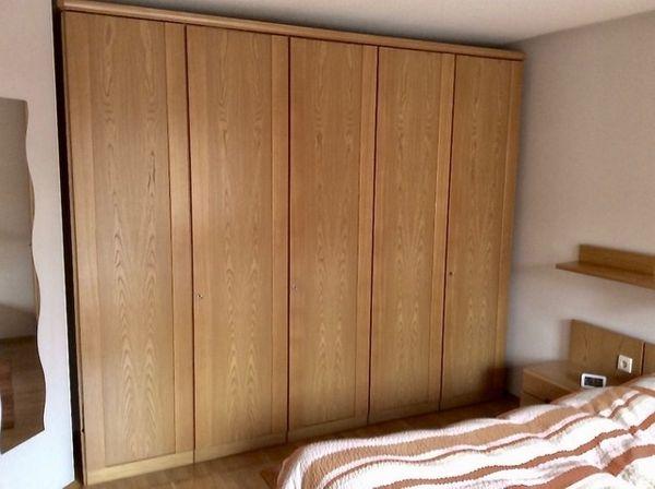 Schlafzimmer von Hülsta in Honigesche, komplett mit Schrank und ...