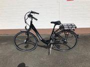 E-Bike zu